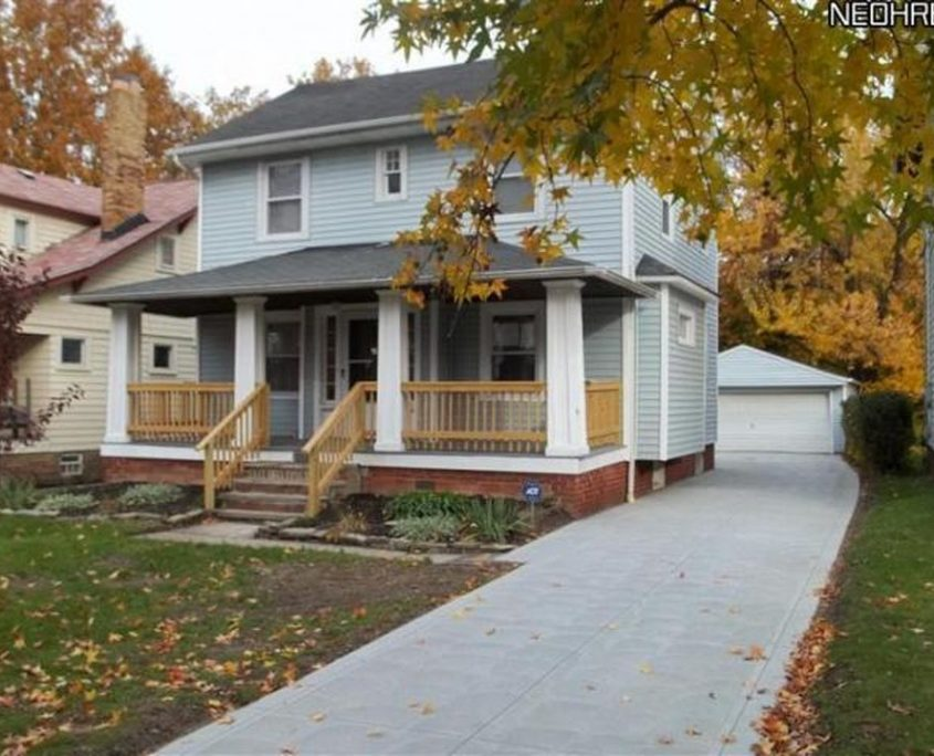 בתים בארצות הברית - בית למכירה בארצות הברית (קליבלנד הייטס אוהיו ) - DRIVEWAY POS