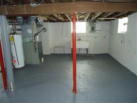 בתים בארצות הברית - בית למכירה בארצות הברית (קליבלנד הייטס אוהיו ) - מרתף אזור שירות